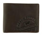 Braun Büffel Geldbörse Parma LP Querformat Braun, 57231