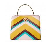 Kate Spade Handtasche / Umhängetasche Romy Intarsia Pink Multi