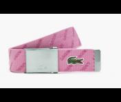 Lacoste Gürtel kürzbar, Pink