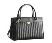 Maison Mollerus Vinerus Black Handtasche, Sulz Gold