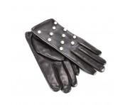 Tosca Blu Handschuhe , Schwarz mit Perlen