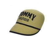 Tommy Hilfiger Baseball Cap Straw, Beige