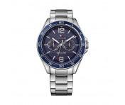 Tommy Hilfiger Herren Uhr Leder braun, 1791366