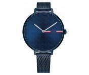 Tommy Hilfiger Damen Uhr Alexa- Casual Edelstahl Blau, 1782159
