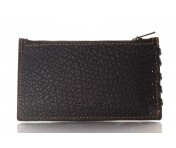 Coach Kreditkartenetui/ Flat Card Case mit RV, schwarz, 59285