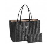Maison Mollerus Vinerus Black Cityshopper Medium, Bern Silber