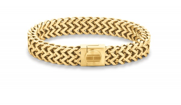 Tommy Hilfiger Armband Casual Herren, Gold 2790246