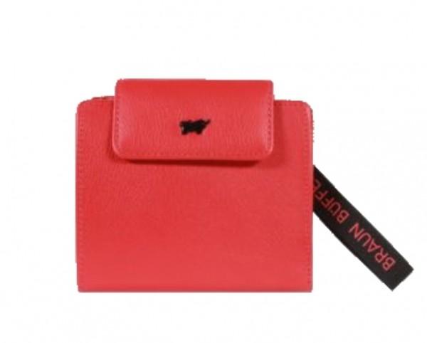 Braun Büffel Geldbörse Capri Rot, 44541