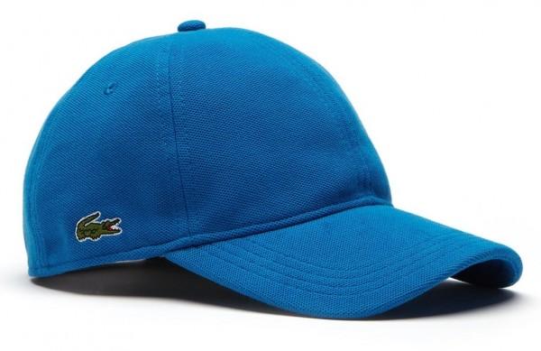 Lacoste Basic Cap Baumwoll-Piqué, Blau