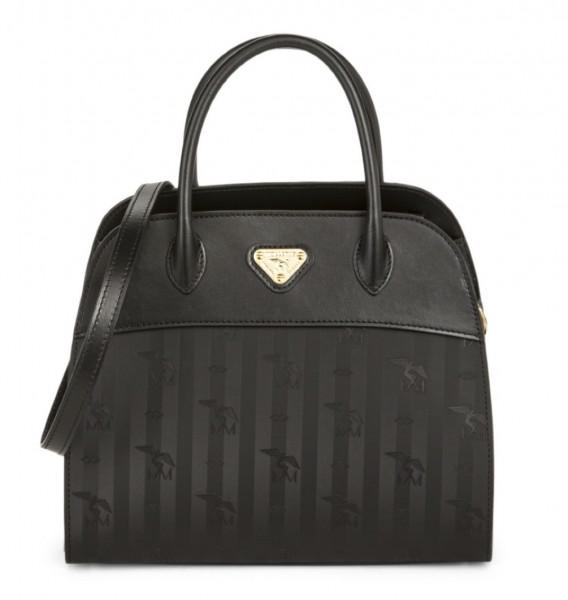 Maison Mollerus Vinerus Black Handtasche, Yens Gold