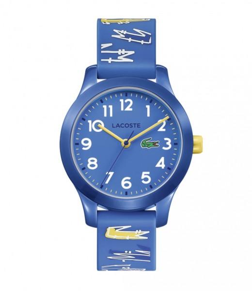 Lacoste 12.12 Kids Uhr Silikon Blau, 2030019