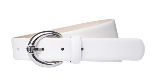 Aigner Gürtel Fashion Silber 125690, Weiß