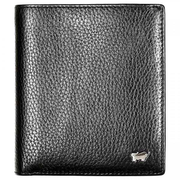 Braun Büffel Geldbörse Turin Hochformat schwarz, 60108S
