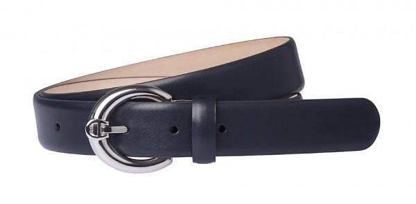 Aigner Gürtel Fashion Silber 125690, Dunkelblau