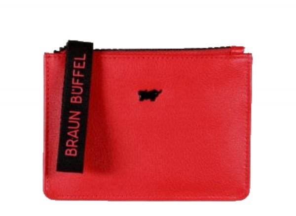 Braun Büffel Capri Mini Börse Rot, 44508