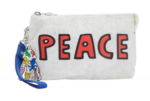"Kipling Clutch / Kosmetiktasche Creativity XL ""by Keith Haring"", KH Public Art"