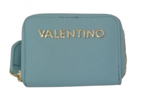 Valentino Bags Mini Portemonnaie Divina, Cielo