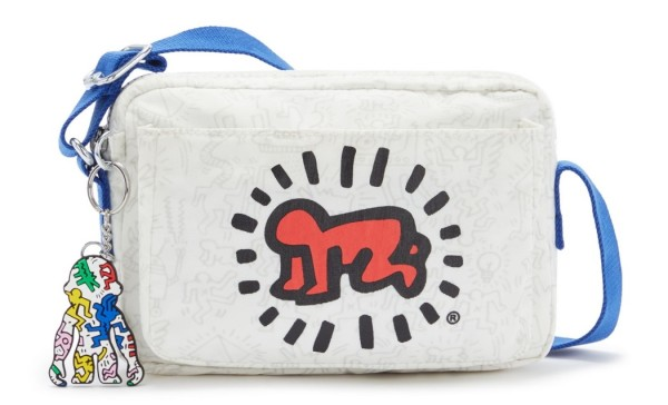 """Kipling Schultertasche Abanu """"by Keith Haring"""", KH Public Art"""