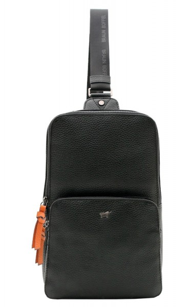 Braun Büffel Sling Bag Novara Schwarz, 26360