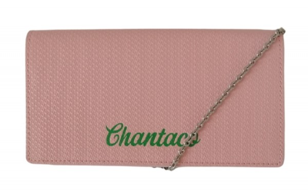 Lacoste Wallet on Chain Chantaco, Pink
