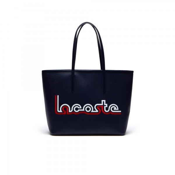Lacoste Shopper Chantaco Tote Bag, Dunkelblau