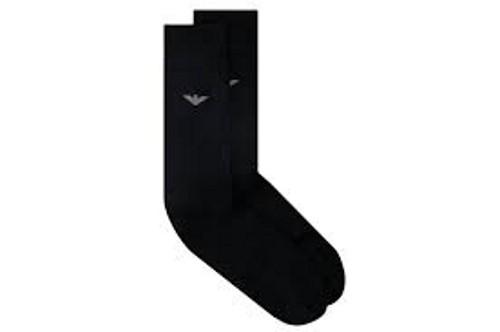 Emporio Armani Socken One Size (35 - 47), Schwarz 302502