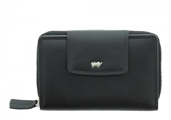 Braun Büffel Geldbörse Golf Secure schwarz, 90056