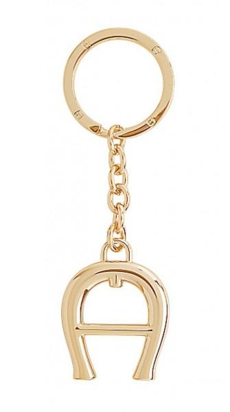 Aigner Schlüsselanhänger gold, 180245