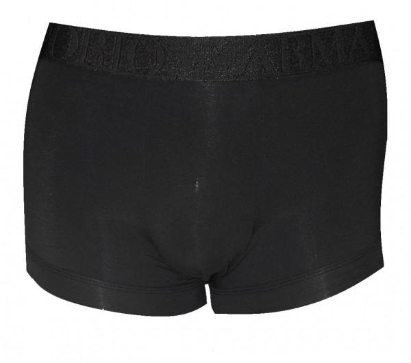 Emporio Armani Stretch Cotton Trunk, Schwarz 111389 Größe S
