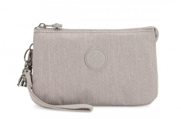 Kipling Clutch / Kosmetiktasche Creativity XL, Grey Beige Pep