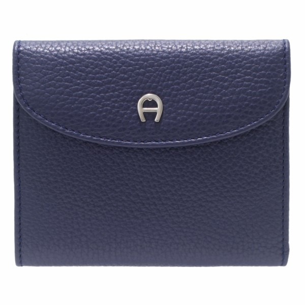 Aigner Portemonnaie klein, 152206 blau
