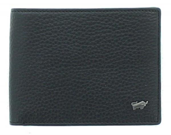 Braun Büffel Portemonnaie Turin schwarz, 60105S