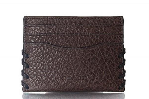 Coach Kreditkartenetui/ Flat Card Holder, Braun 59291