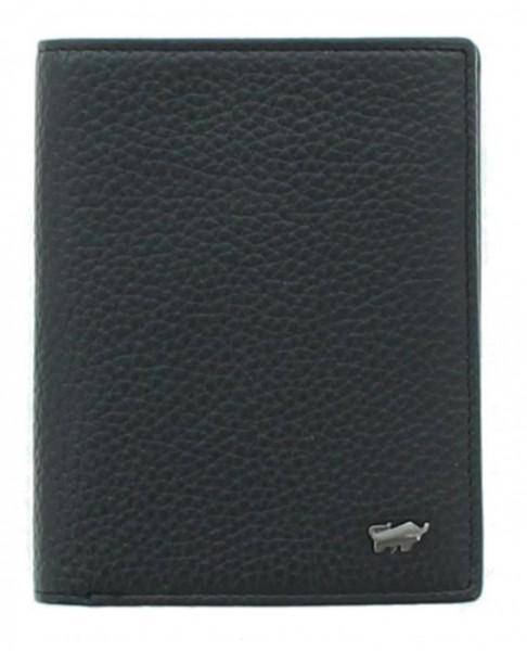 Braun Büffel Geldbörse Turin Hochformat schwarz, 60107S