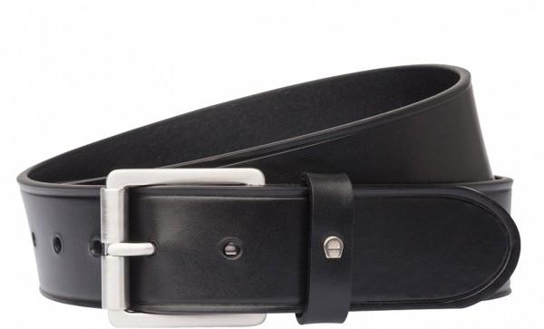 Aigner Gürtel Casual mit S-Schließe silber 127339, schwarz