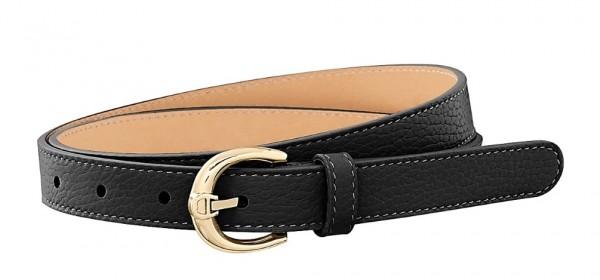 Aigner Gürtel Fashion Gold 123025, Schwarz