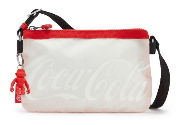 Kipling Umhängetasche Creativity XB Coca Cola, Wild Red