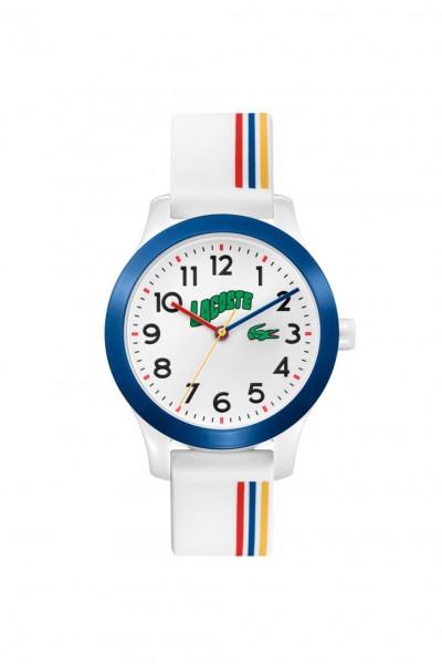 Lacoste 12.12 Kids Uhr Silikon Weiß, 2030027