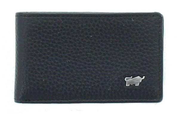 Braun Büffel Mini Portemonnaie Turin schwarz, 60102S