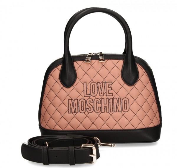 Love Moschino Handtasche / Umhängetasche, Rosé / Schwarz